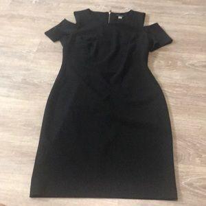 NWT Tommy Hilfiger cold shoulder dress size 10
